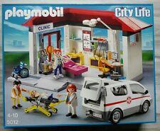 Playmobil 5012 City Life - Ambulanz mit Notarzt-Fahrzeug NEU & OVP