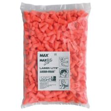 Pack Of 200 Howard Leight  MAX LS400 Ear Plugs Refill Pack SNR 37dB