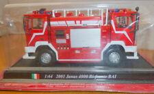 DEL PRADO 1:64 2001 Janus 4000 Bi-Fronte BAI - Fire Engine - Sealed *