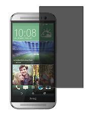 Blickschutzfolie HTC One M8 Privacy Displayschutz Folie Antispy schwarz matt