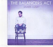 (DW682) James Lusby, The Balancers Act - 2012 DJ CD