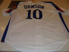 Montreal Expos Baseball Jersey XL Andre Dawson 2010 HOF