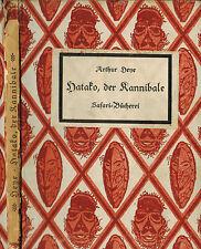 Arthur heye, hatako el caníbal, safari-biblioteca pública, safari-Verlag Berlin 1921