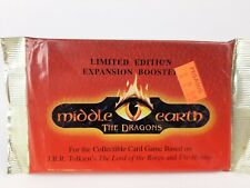 Middle Earth Factory SEALED Booster Pack The Dragons Limited Edition - NEW