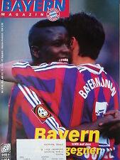 Programm 1996/97 FC Bayern München - Hansa Rostock