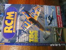 2µ?§ Revue RCM n°261 Plan encarté 13D2+ / Nebula 2000Foehn Toro 300 Seamaster