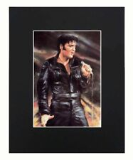 Elvis Presley Portrait 8x10 matted Art Print Printed Poster Decor picture Gift