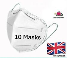10 X FACE MASK PROTECTION Surgical/ Medical Anti Bacterial Pollen + VITAL EXTRAS