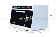 Salon UV Sterilizer Cabinet Ultra-Violet Sterilization Germs Beauty Equipment CE