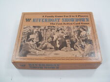 Vintage Whitman Riverboat Showdown Fast Action Card Game (1976)