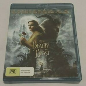 Beauty And The Beast (Blu-ray, 2017) - Musical Romantic Fantasy Movie