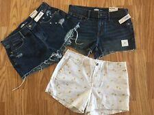 Old Navy Women's Boyfriend & Everyday Shorts Lot Of Three. Size 4