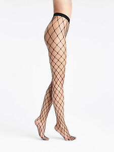 WOLFORD Sixties Net Tights Size M Black Seamless Comfortable AW 2020/21
