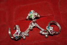 Fashion Women Toe Rings Jewelry Indian Designer 92.5 Silver Plated Traditional