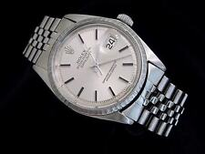 Rolex Datejust Mens Stainless Steel Watch with Silver Dial & Jubilee Band 1603
