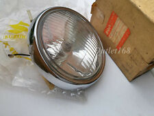 New Old Stock Suzuki A100 SR A80 GT100 TS100 RV90 Round Headlamp Head Light Assy