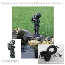 Pond Pump With Gargoyle Pond Figure Garden Pond strompumpe Net Garden Figure