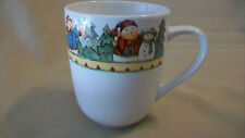 Snowman in Sweater Coffee Cup by Debbie Hron from Gibson, 2003 Pattern