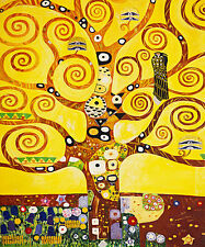 Tree of Life by Gustav Klimt A1+ High Quality Canvas Print