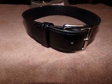 gould and goodrich police style belt size 26 high gloss porvair
