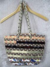 NEAFP New England Alpaca Fiber Pool Inc. Fiber Weaving Shoulder Bag Purse NEW