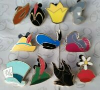 Character Hats Collectible Pack Mystery Set Choose a Disney Trading Pin