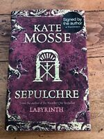 kate mosse - sepulchre ( signed copy )