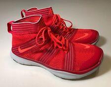 c9f9998b47014 Nike Free Train Virtue (898052-600) Orange Red Athletic Shoes Men 11