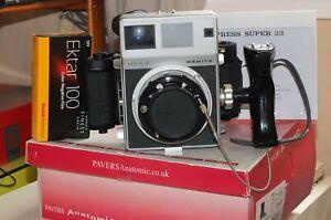 lovely Mamiya Press Super 23 camera