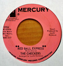 DEEP SOUL - CHECKERS - RED BALL EXPRESS b/w COME BACK HOME - MERCURY - PROMO 45