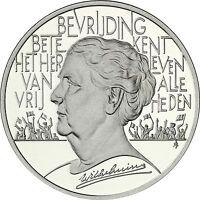 Niederlande 25 Ecu 1995  Königin Wilhelmina  Silber PP