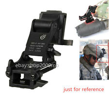 Night Vision Nvg M88 Helmet Mount Fast Diy Base Set Strap+Adapter 3 items/Set