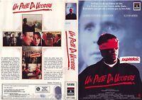 UN PRETE DA UCCIDERE (1988) VHS ORIGINALE 1ª EDIZIONE INEDITA IN HOME VIDEO