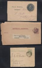 ARGENTINA, 1890s-1959. Cover selection (13)