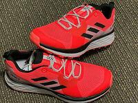 adidas Terrex Men's Two Trail Orange Running Shoes 9