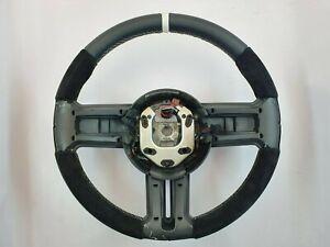 Ford Mustang 2011 2012 2013 2014 Steering Wheel Shelby GT500 Alcantara White