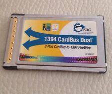 SIIG 1394 CardBus Dual 2-port Cardbus To 1394 FireWire PC Card Adapter NN-2612
