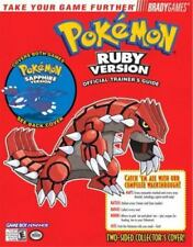 POKEMON RUBY VERSION Official Trainer's Guide Bradygames Strategy Guide Book GBA