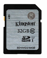 Kingston 32GB SDHC Camera Memory Cards for JVC