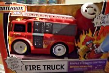 MATCHBOX RC FIRE TRUCK RADIO CONTROL MADE EASY K7218 *NEW*