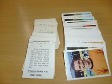 FKS SOCCER STARS 1968/69 individual stickers lots available....2 for £1