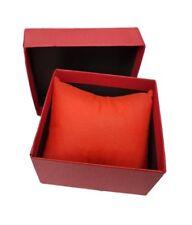 Cofanetto Scatola Box Confezione Astuccio Cuscino Orologio Bracciale Rossa lac