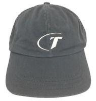 Vintage Telmark Hat Logo Cap Made USA Apparel Baseball Trucker Strapback Gray