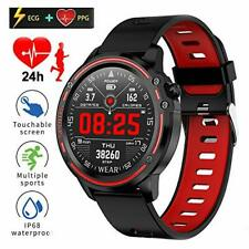 L8 Smart Watch Fitness Tracker ECG+PPG Blood Pressure Heart Rate Watch IP68 USA