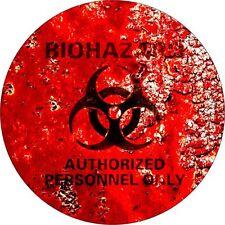 2 x Biohazard Symbol  Surf Vinyl Decal Sticker EURO JDM DUB VW Funny Jap laptop