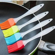 4pcs Silicone Basting BBQ Pastry Oil Brush Turkey Baster Barbecue Utensil Tool