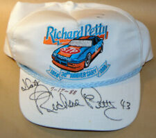 VTG 1988 RICHARD PETTY '43' AUTOGRAPHED HAT! 30th ANNIVERSARY! EMBROIDERED! USA!