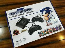 NEW IN BOX! SEGA Genesis Classic Black Game Console with 81 Preloaded Games