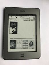 Amazon Kindle Touch 4th Gen D01200 (4GB, Wi-Fi, 6in, Silver) (181)