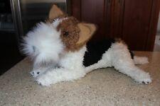 E & J Classic Plush Wire Fox Terrier 18 inch